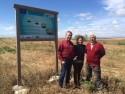 Partners from LIFE Crops for Better Soil visit Operation CO2 plots in Aragon