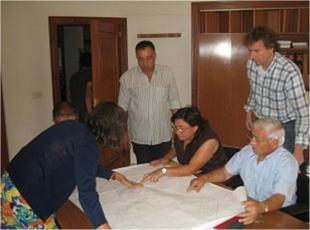 Preliminary analysis of the land in Ayoó de Vidriales, Zamora