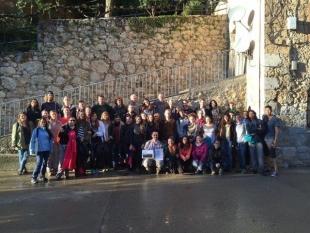 Exitosa visita de los estudiantes internacionales del MSc en Sostenibilidad al área de Alinyà