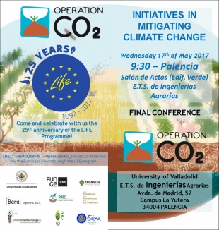 Final conference LIFE OPERATION CO2 to be held in Palencia