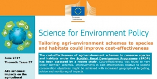 Tailoring agri-environment schemes to species and habitats could improve cost-effectiveness