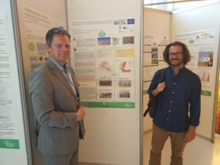 Our team presented the project in the Spanish Forestry Congress