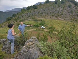 CCPAE inspection in order to declare as organic the apple and aromatic plants in Alinyà