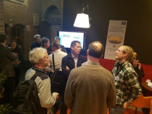 Successful dissemination at van Akker naar Bos conference in the Netherlands
